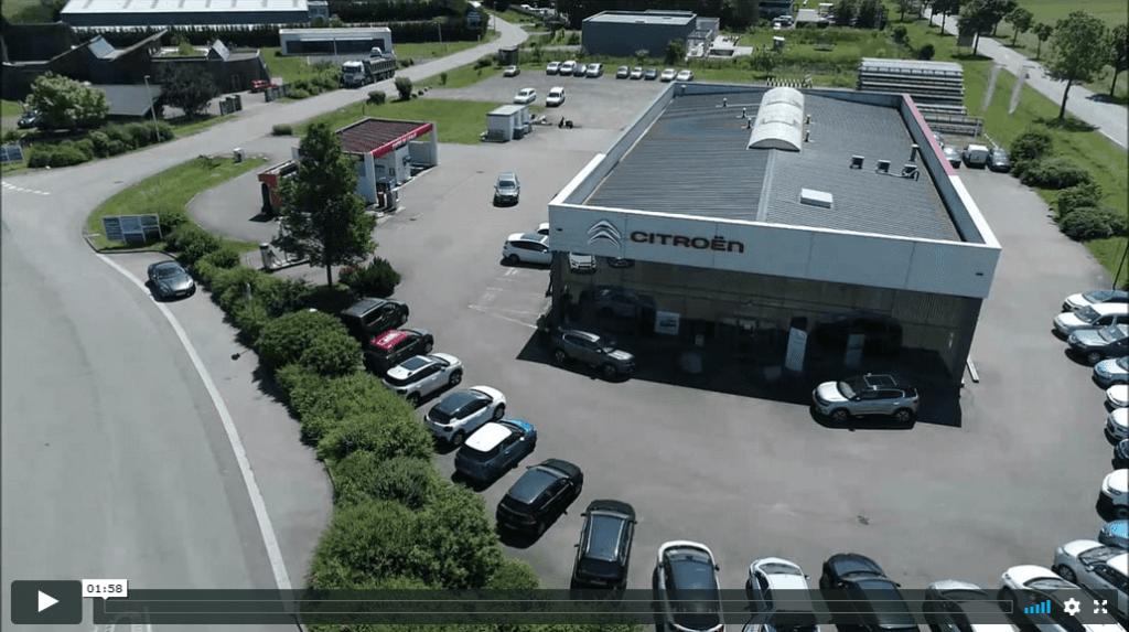 Découverte du Garage Citroën Muller en vidéo