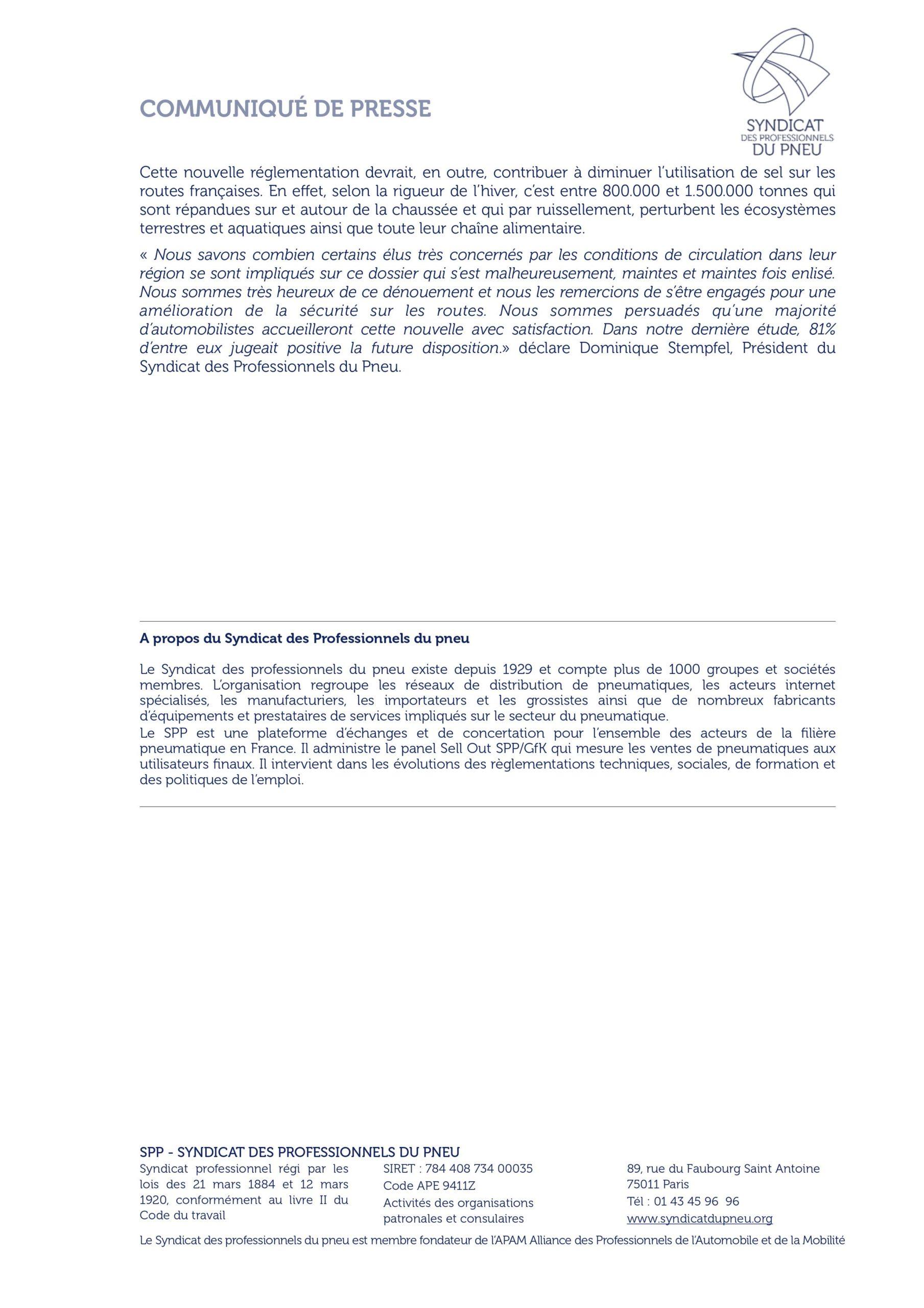cp-decret-reglementation-pneu-hiver-spp-19-10-2020-1 Garage Muller Burnhaupt Le Bas 68
